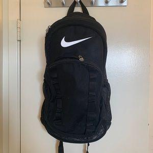 Nike black mesh backpack